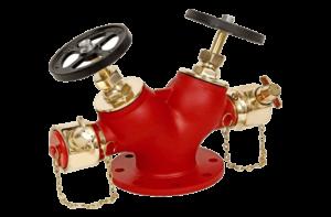 Double Headed Hydrant Valve